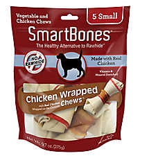 SmartBones® Chicken Wrapped Small Chews Dog Treat - Chicken