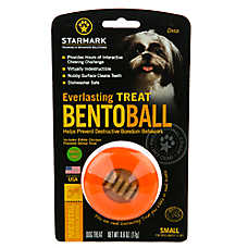 Starmark Everlasting Treat Bento Ball Dog Toy - Chicken Flavor