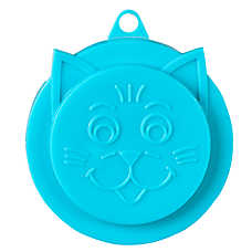 Whisker City® Cat Face Can Food Lid