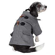 Pet Life Military Wool Coat