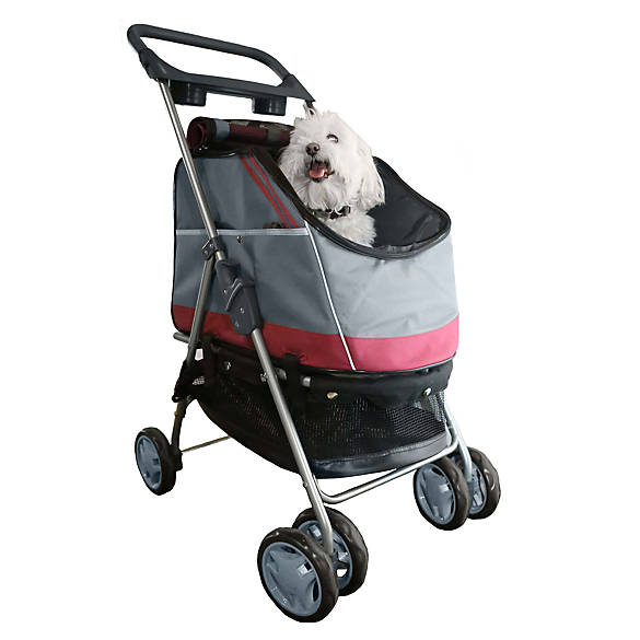 Pet Life All In One Pet Stroller Amp Car Seat Dog