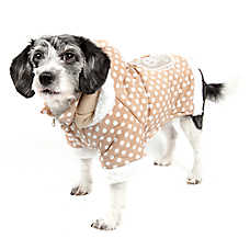 Pet Life Polka Dot Hooded Sweater