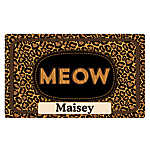 "Drymate ""Meow"" Personalized Cat Litter Mat"