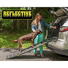 Pet Gear Travel Light Bi-Fold Reflective Pet Ramp