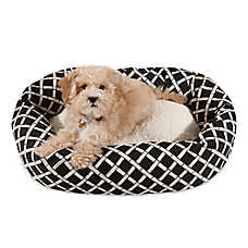 Majestic Pet Bamboo Sherpa Bagel Pet Bed