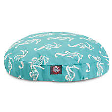 Majestic Pet Seahorse Round Pet Bed