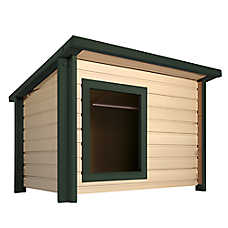 New Age Pet® ecoFLEX™ Rustic Lodge™ Dog House