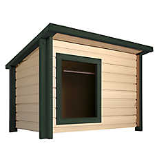 New Age Pet® ecoFLEX™ Rustic Lodge™ Dog House