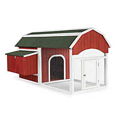 Prevue Pet Red Barn Chicken Coop