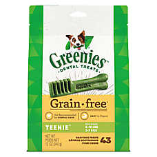GREENIES® Grain Free Teenie Dental Dog Treat