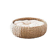 PetPals Round Basket Cat Bed
