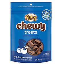 NUTRO® Blueberry Flavor Chewy Dog Treats
