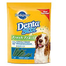 PEDIGREE® DENTASTIX® Fresh Medium Dog Sticks