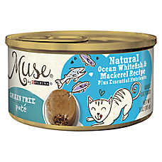 Muse® Adult Cat Food - Grain Free, Essential Nutrients, Natural Ocean Whitefish
