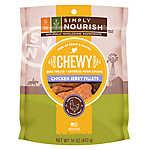 Simply Nourish™ Grain Free Gluten Free Chewy Chicken Jerky Fillets Dog Treat