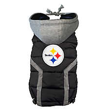 Pittsburgh Steelers NFL Puffer Vest