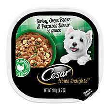 Cesar® Home Delights Turkey, Green Beans & Potatoes Dog Food