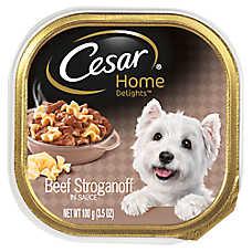 Cesar® Home Delights Beef Stroganoff Dog Food