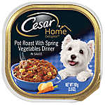 Cesar® Home Delights Pot Roast with Spring Vegetables Dog Food