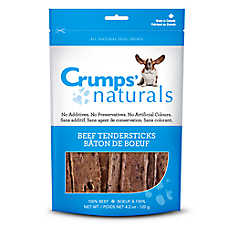 Crumps Naturals Beef Tendersticks Dog Treat - Natural