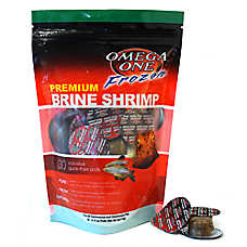 Omega™One Frozen Brine Shrimp Fish Food