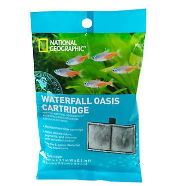 National geographic waterfall oasis cartridge fish for National geographic fish tank filter