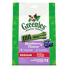 GREENIES® Regular Dog Dental Treat - Blueberry