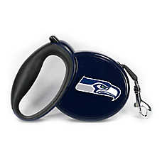 Seattle Seahawks NFL Retractable Dog Leash