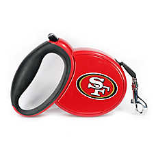 San Francisco 49ERS NFL Retractable Dog Leash