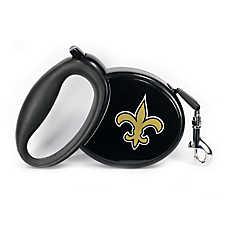 New Orleans Saints Retractable Dog Leash