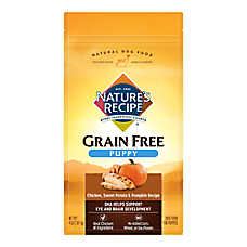 Nature's Recipe® Grain Free Chicken, Sweet Potato & Pumpkin Puppy Dog Food