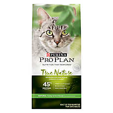 Purina® Pro Plan® True Nature Turkey & Rice Adult Cat Food