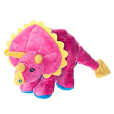 Top Paw™ Tuff Chewguard Triceratops Dog Toy - Squeaker