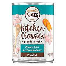 NUTRO™ Kitchen Classics Adult Dog Food - Natural, Fish & Sweet Potato