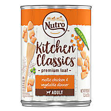 NUTRO™ Kitchen Classics Adult Dog Food - Natural, Rustic Chicken & Vegetable