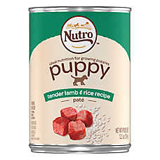 NUTRO™ Puppy Food - Natural, Tender Lamb