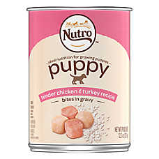 NUTRO™ Puppy Food - Natural, Tender Chicken & Turkey