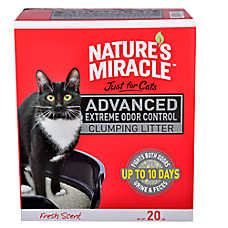 Nature's Miracle® Advanced Fresh Scent Order Control Clumping Cat Litter