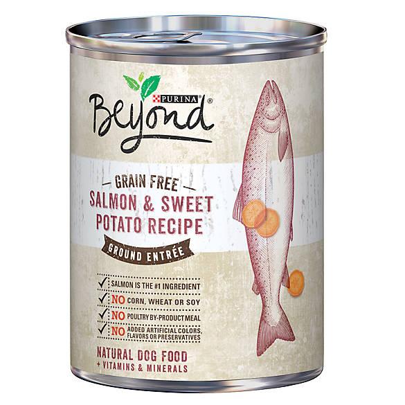 Purina 174 Beyond 174 Grain Free Natural Salmon Amp Sweet Potato