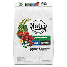NUTRO™ Wholesome Essentials Large Breed Adult Dog Food - Natural, Non-GMO, Lamb & Rice