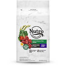 NUTRO™ Wholesome Essentials Small Bites Adult Dog Food - Natural, Non-GMO, Lamb & Rice