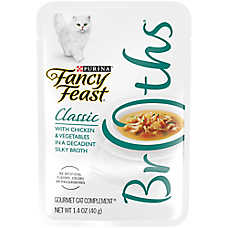 Fancy Feast® Classic Broths Chicken & Vegetable Cat Treat