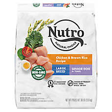 NUTRO™ Wholesome Essentials Large Breed Senior Dog Food - Chicken, Brown Rice & Sweet Potato