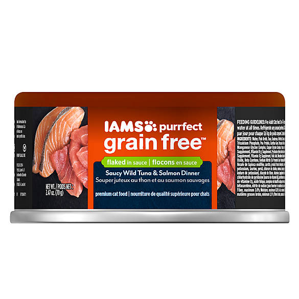 Iams Grain Free Wet Cat Food