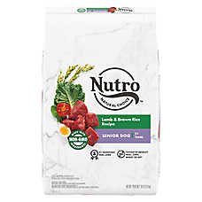 NUTRO™ Wholesome Essentials Senior Dog Food - Natural, Non-GMO, Lamb & Rice