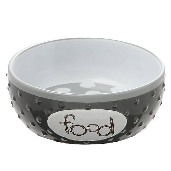 Top Paw 174 Quot Food Quot Dog Bowl Dog Food Amp Water Bowls Petsmart