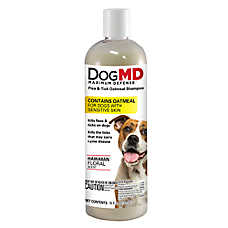Dog MD™ Maximum Defense Flea & Tick Oatmeal Dog Shampoo