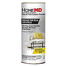 Home MD™ Maximum Defense Flea & Tick Carpet Powder