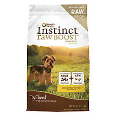 Nature's Variety® Instinct® Raw Boost Toy Breed Dog Food - Grain Free, High Protein, Chicken Meal