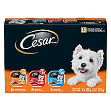 Cesar® 18 Count Value Pack Dog Food
